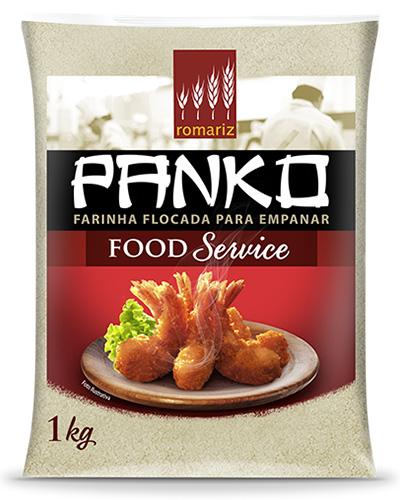 Farinha Flocado Panko Romariz 1kg