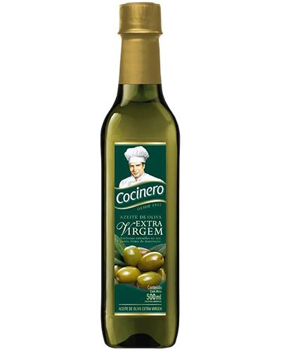 Azeite Oliva Extra Virgem Cocinero 500ml