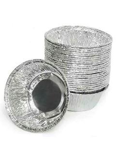 Embalagem Funda Alumínio Redonda Pequena Wyda 45ml 100 Unidades