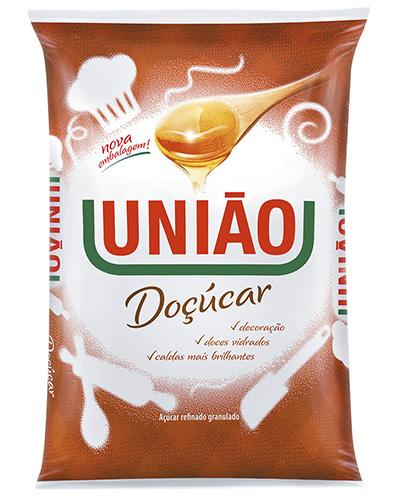 Açúcar Refinado Granulado Doçúcar União 1kg