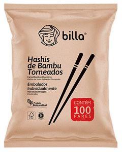 Hashi De Bambu Torneado Billa 100 Unidades