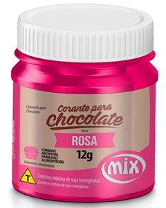 Corante Para Chocolate Rosa Mix 12g