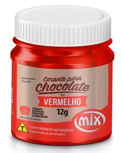 Corante Para Chocolate Vermelho Mix 12g