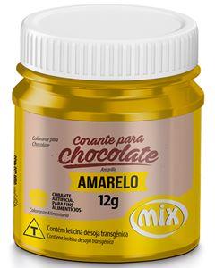 Corante Para Chocolate Amarelo Mix 12g