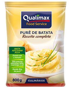 Purê Batatas Completo Qualimax 800g