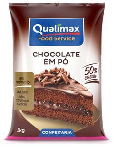 Chocolate Em Pó 50% Qualimax 1kg
