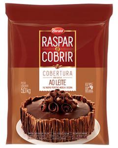 Cobertura Chocolate Ao leite Raspar e Cobrir Harald 5kg
