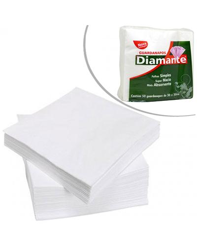 Guardanapo Diamante 22x20cm 50 Folhas