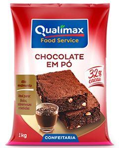 Chocolate Em Pó 32% Qualimax 1kg