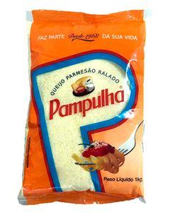 Queijo Parmesão Ralado Pampulha 1kg