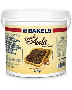 Creme de Avelã Com Cacau Bakels Balde 3kg