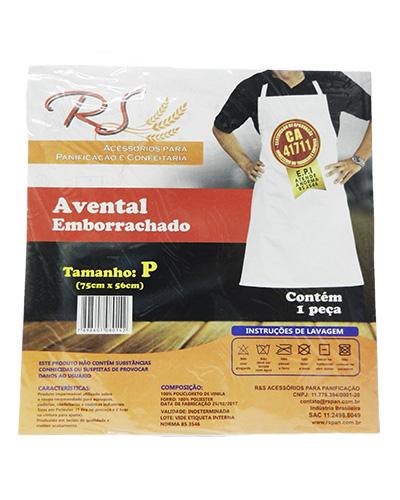 Avental Emborrachado P 75x56cm