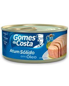 Atum Solido Em Óleo Gomes Da Costa 170g