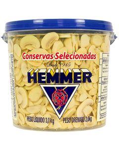 Cogumelos Fatiados Hemmer 2kg
