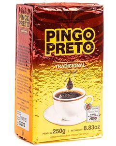 Café Tradicional Pó Vácuo Pingo Preto 250g