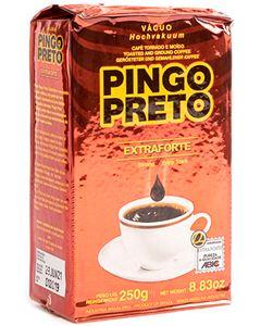 Café Extra Forte Pó Vácuo Pingo Preto 250g