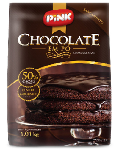 Chocolate Em Pó 50% Pink Alnutri 1,01kg