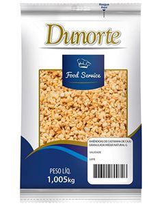 Castanha Granulado Media Natural Dunorte 1,005kg