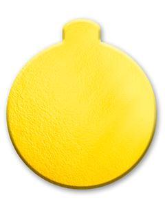 Base Laminada Redonda Dourada Regina 31,5cm 10 Unidades