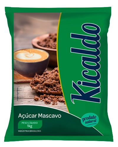 Açúcar Mascavo Kicaldo 1kg