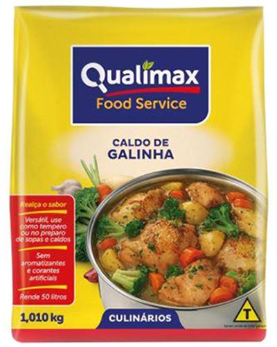 Caldo de Galinha Qualimax 1,01kg