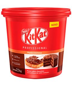 Recheio Cobertura Kit Kat Nestle 2,1kg