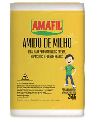 Amido De Milho Amafil 25kg