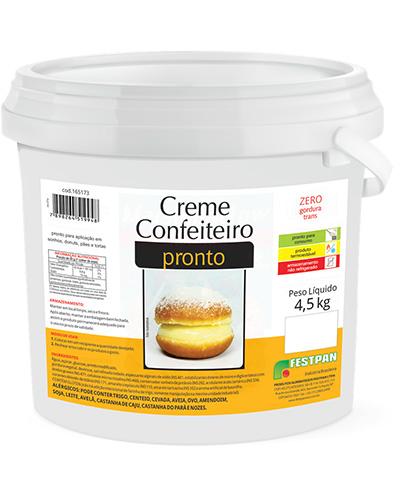 Creme Confeiteiro Pronto Vapt 4,5kg