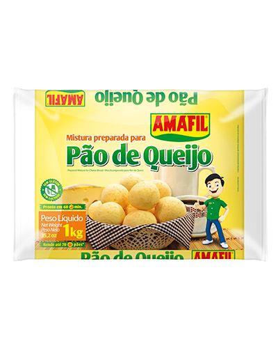 Pão De Queijo Amafil 1kg