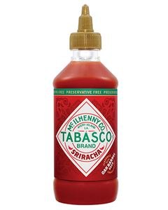 Molho De Pimenta Sriracha Tabasco 256ml