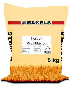 Prefacil Pães Macios Bakels Saco 5kg