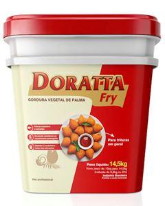 Gordura De Palma Doratta Fry Balde 14,5kg
