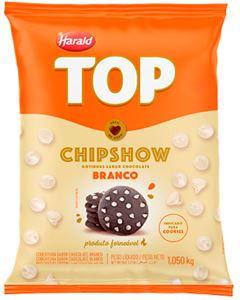 Cobertura Gotas Branco Chipshow Top Harald 1,01kg