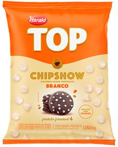 Cobertura Gotas Branco Chipshow Top Harald 2,5kg