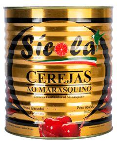 Cereja Marasquino Sem Talo Sicola 2,2kg