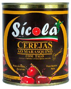 Cereja Marasquino Com Talo Sicola 2kg