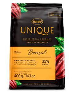 Chocolate Em Gotas Bahia Ao Leite 35% Unique Harald 400g