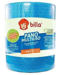 PANO MULTIUSO BILLA AZUL ROLO 600 PANOS