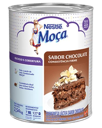 Recheio Cobertura Chocolate Moça 2,54kg