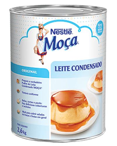 Leite Condensado Moça Nestle 2,6kg