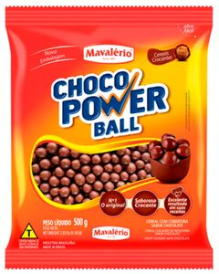 Choco Power Ball Chocolate Mavalerio 500g