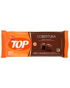 Cobertura Chocolate Meio Amargo Top Harald 1,050kg