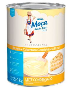 Recheio Cobertura Leite Condensado Moça Nestle 2,6kg
