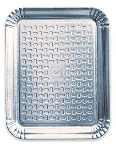 Bandeja Laminada N.7 Regina 43x50,5cm 10 Unidades