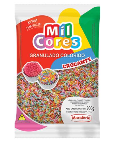 Granulado Colorido Mil Cores Mavalerio 500g