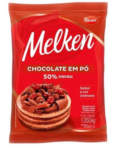 Chocolate Em Pó 50% Harald 1,050kg