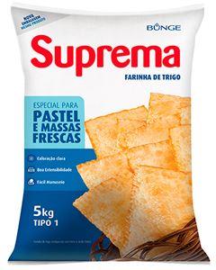 Farinha De Trigo Suprema Para Pastel 5kg