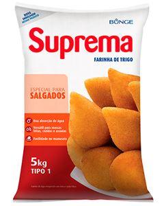Farinha De Trigo Suprema Para Salgados 5kg