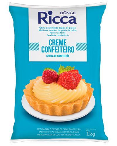 Creme Confeiteiro Ricca Baunilha 1kg