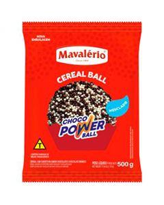 Choco Power Ball Micro Chocolate/Chocolate Branco Mavalerio 500g